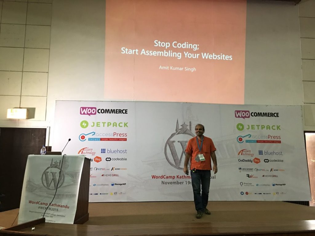 Our Experience at WordCamp Kathmandu 2016